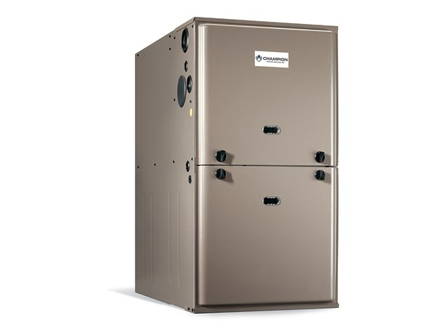 Plumbing Products - Champion gas furnaces - De Hart Plumbing in Manhattan, KS