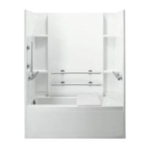 Plumbing Products - shower and tub inserts - De Hart Plumbing Manhattan, KS 66502