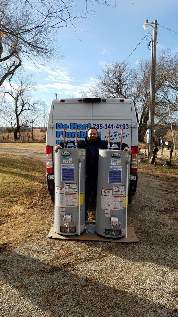 Water Heater Repair De Hart Plumbing Junction City And