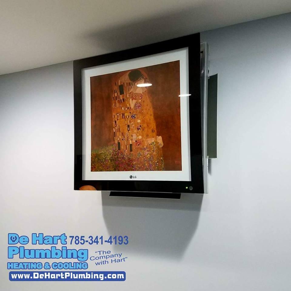 Duct-Free AC De Hart Plumbing Heating & Cooling HVAC Manhattan KS