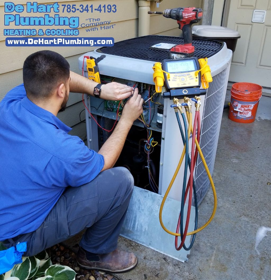 Air Conditioner System De Hart Plumbing Heating Amp Cooling